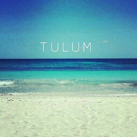Hip Hotel Tulum: Tulum Beach