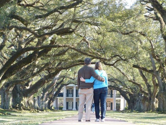 Southern Comfort Bed and Breakfast: Oak Alley Plantation
