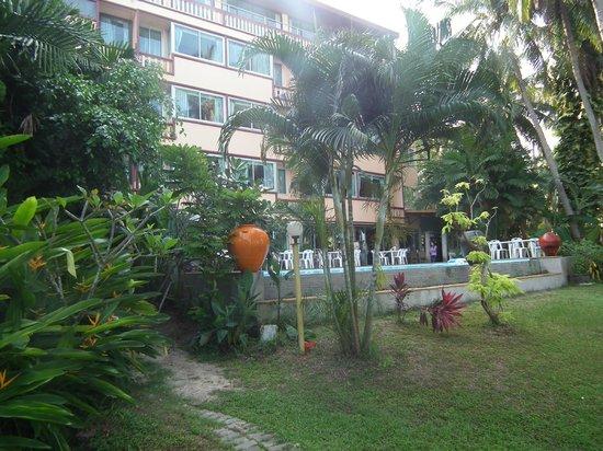 Grand Sea View Hotel: Les chambres côté mer