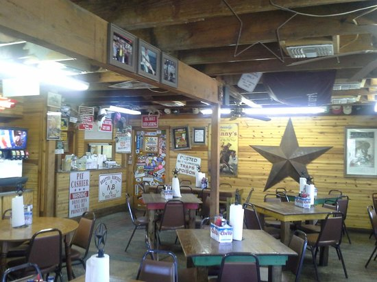 Johnny S Steaks Bar Be Que Texas Decor