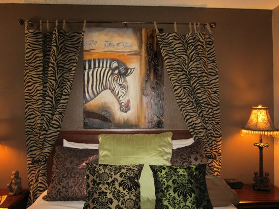 Alder Inn: Safari theme was apparent