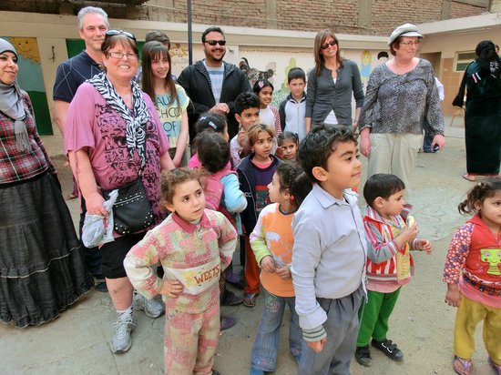 Cairo-Overnight Tours: Mama Magi school .Support the local .