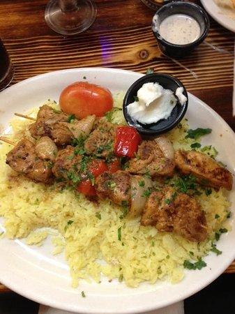 Nicholas Restaurant:                   Chicken Kabob