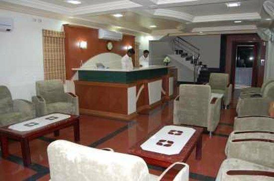 Hotel Rockfort Palace: Reception center