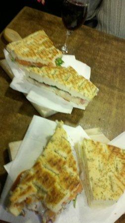 Osteria da Bacco S.N.C. : Delightful Sandwiches!