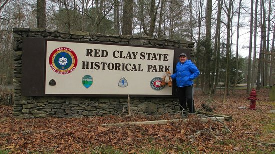 Red Clay State Historic Park: Signage