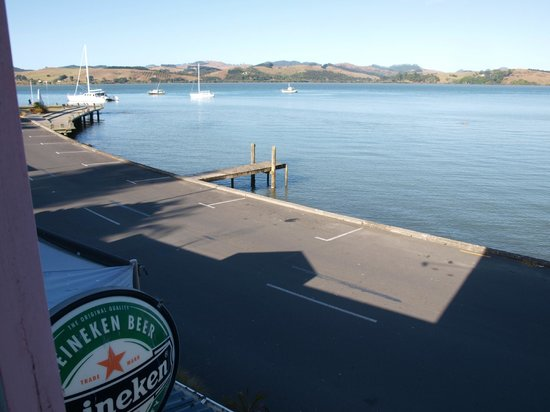 Mangonui Waterfront Apartments:                   view from room