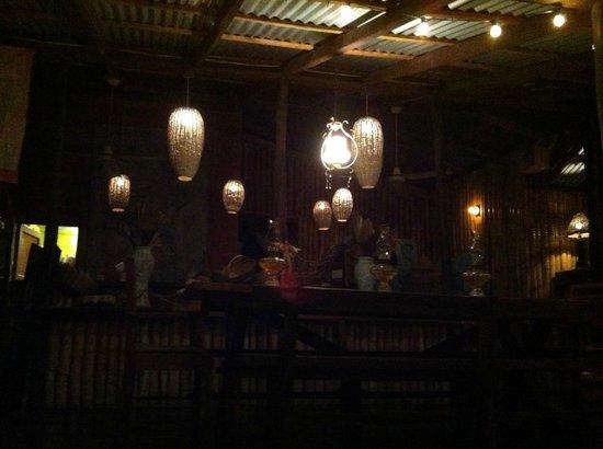 Citronella:                                     Dining room at night