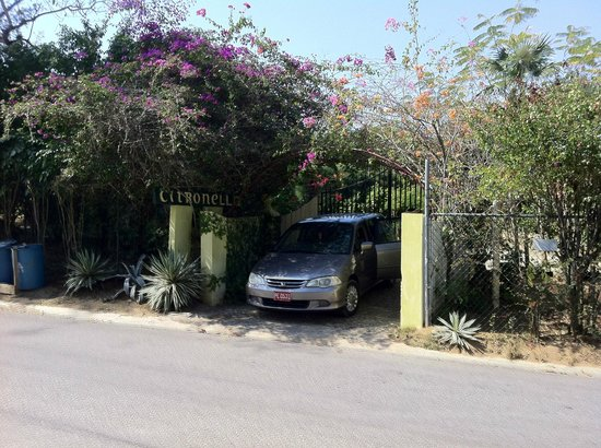 Citronella:                                     Property Entrance (cab)