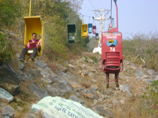 Rajgir, الهند:                   Chair Ropeway                 