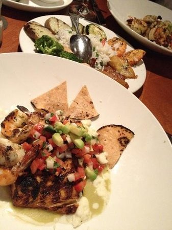 Churrascos :                   we had a great dinner over there