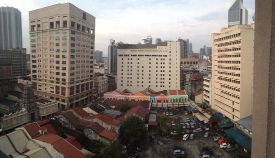 Mandarin Pacific Hotel : View from window of Room 1015