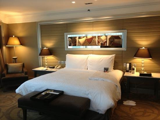 InterContinental Bangkok: chambre