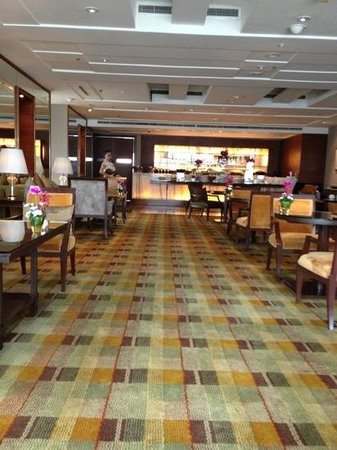 InterContinental Bangkok: lounge au 37 eme