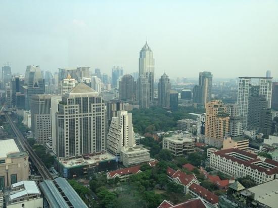 InterContinental Bangkok: vue du 37eme etage