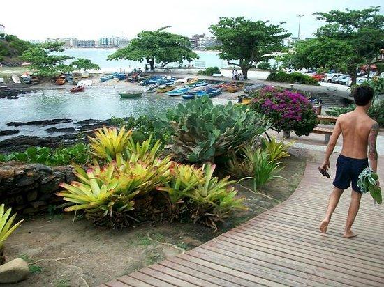 Forte Beach: paseando detras del fuerte