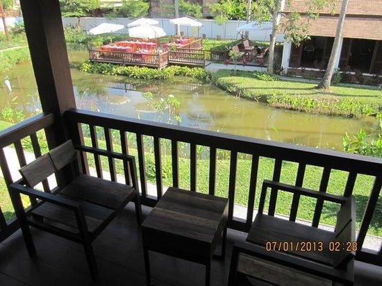 Sanctuary Luang Prabang Hotel : Balcony
