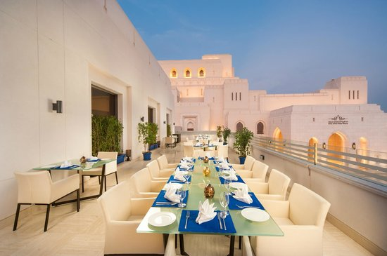 The Indus:                   outside seating