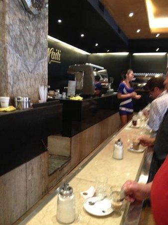 Cafe Haiti:                   la bartender