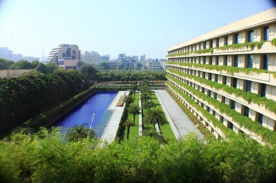 The Oberoi, Gurgaon :                   The swimming pool