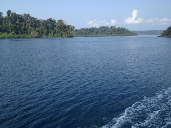 North Andaman Island, Hindistan: On way to Beautiful Cinque Island