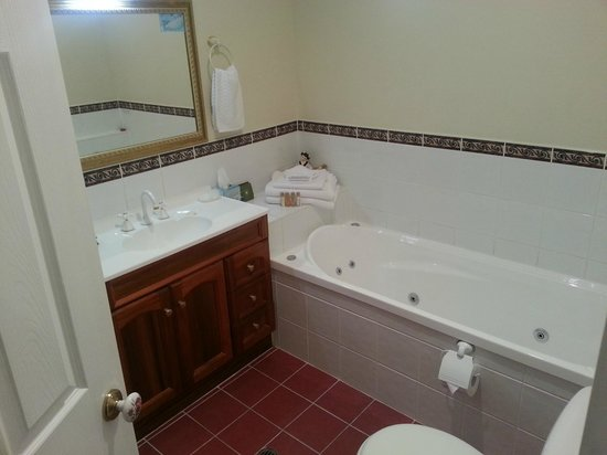Johnstone's on Oxley:                   'spa' bath