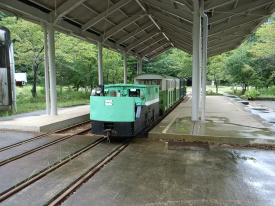 Yunokuchi Onsen:                   この列車で行くと楽しい