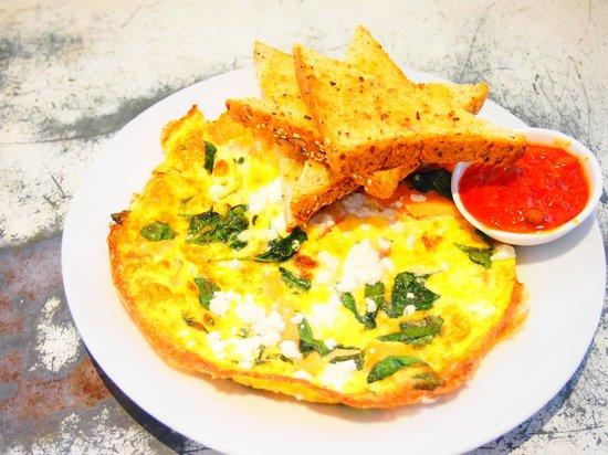 Cool Katz Cafe:                   huge omlette