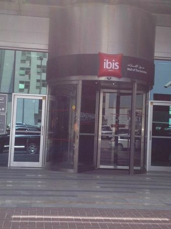 Ibis Mall Of The Emirates:                   Entrance