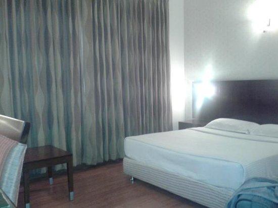 The Senate Hotel:                   Room