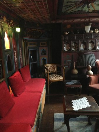 Kybele Hotel: Комната отодыха/библиотека