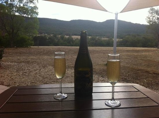 Boroka Downs:                   Champagne with a view