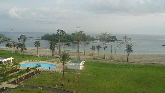 Sofitel Malabo Sipopo Le Golf:                   View from room