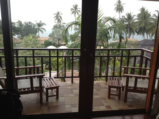 The Sunset Beach Resort & Spa, Taling Ngam:                                     Balcony
