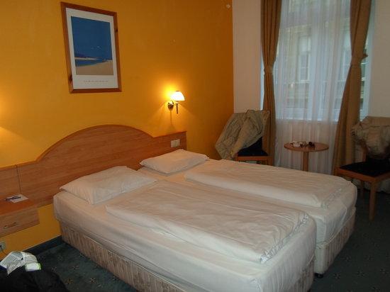 Golden Park Hotel: Letti