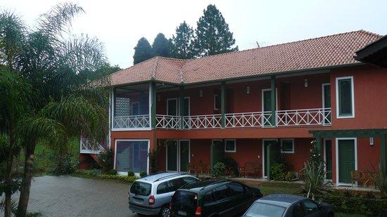 Vila Rica Pousada: Parte exterior da pousada Vila Rica