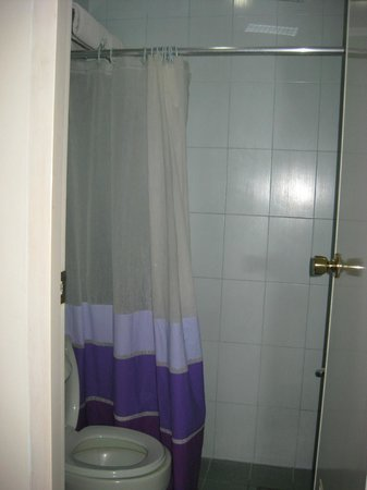 Regency Inn: Separate shower area