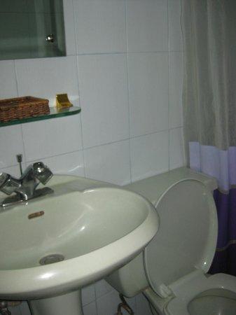 Regency Inn: Bathroom is quite small