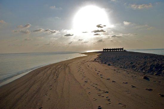 كوراماتي آيلاند ريزورت: lingua di sabbia