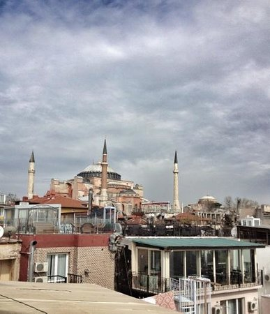 Tria Hotel Istanbul: rooftop view