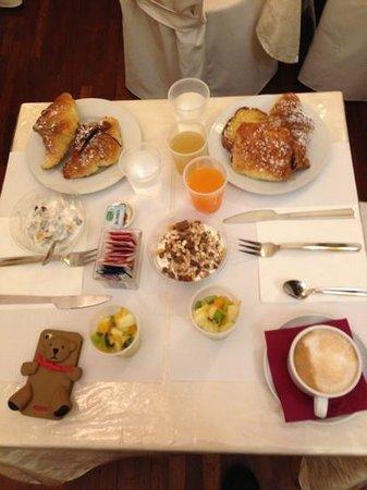 Hotel Del Corso: la colazione