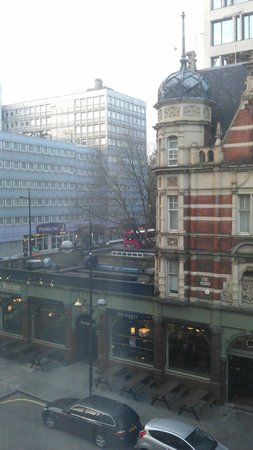 Pullman London St Pancras: View from room 203 - left