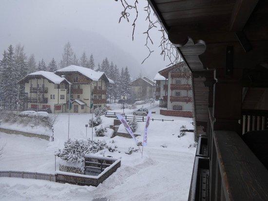 Park Hotel & Club Rubino Executive: Che nevicata!