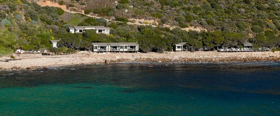 Tintswalo Atlantic: View from the front of the lodge
