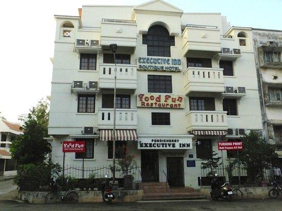 Pondicherry Executive Inn Pvt Ltd:                   Exterior