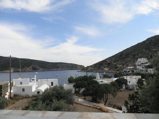 Iviskos Studios: view from room
