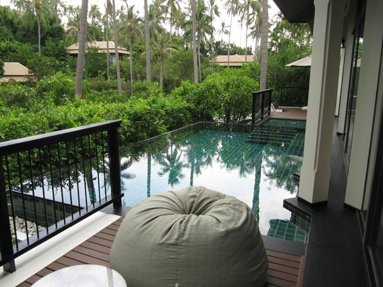 Banyan Tree Samui: Room compound with private pool