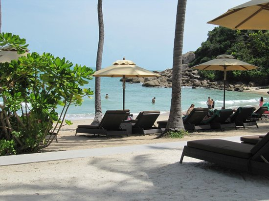 Banyan Tree Samui: Private beach