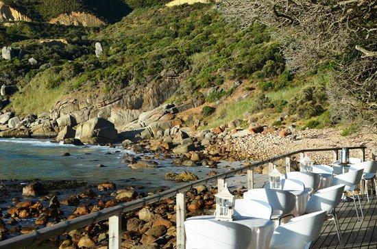 Tintswalo Atlantic: Pre dinner Setup