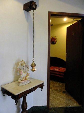 Pondicherry Executive Inn Pvt Ltd:                   Room Entrance